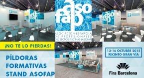 Píldoras formativas de ASOFAP en Salón Piscina Wellness Barcelona 2015