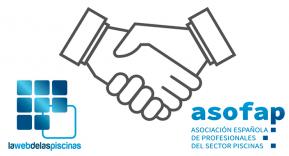 ASOFAP y La Web de las Piscinas renuevan su acuerdo de colaboración