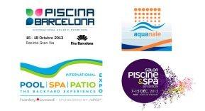 Avalancha de Ferias Internacionales sobre el mundo de la piscina