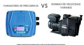 Bombas de velocidad variable o variadores de frecuencia, ¿Qué es mejor?