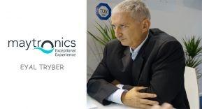 Entrevista exclusiva con Eyal Tryber, nuevo CEO de Maytronics