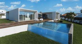 Espectaculares piscinas con ventanas subacuáticas