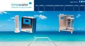 Nueva página web de Innowater