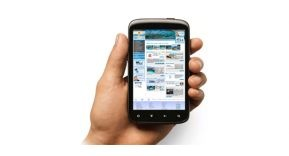 Éxito de la web móvil de Abrisud