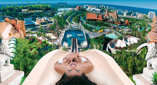 Siam Park, el mejor parque acuático del mundo está en España
