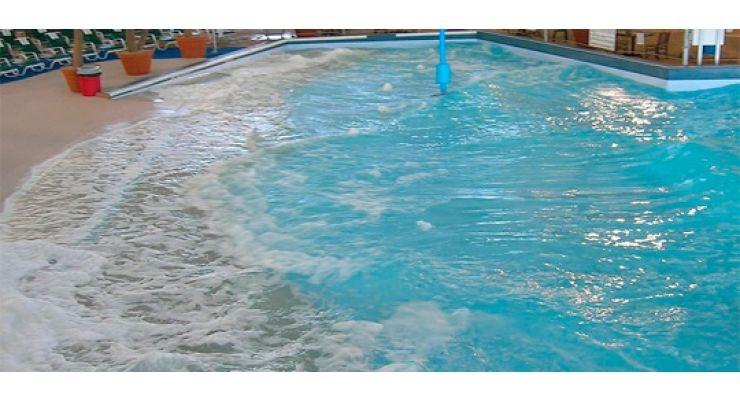 Piscinas particulares con olas la web de las piscinas for Piscina wave