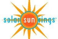 Logo Solar Sun Rings